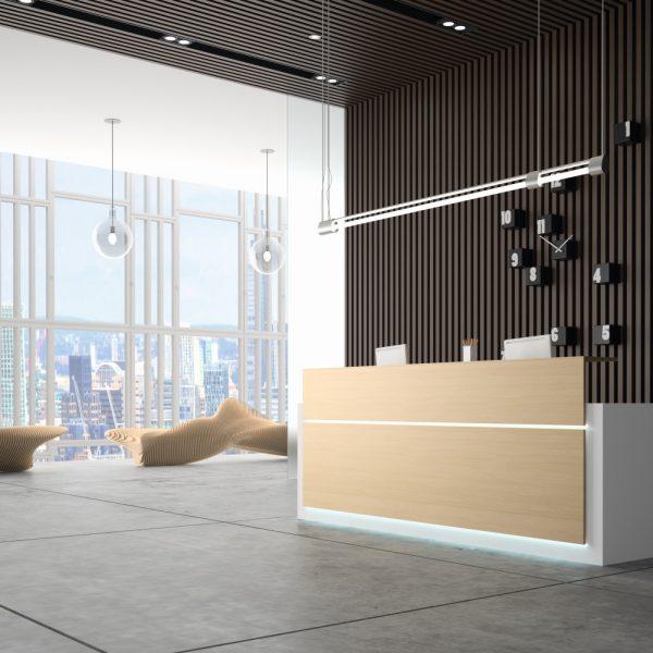 NEW PANO reception counter